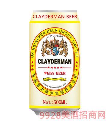 喜力啤酒白啤酒500ml