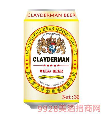 喜力啤酒白啤酒330ml