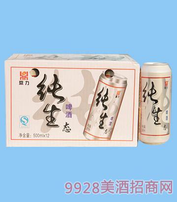 鼎力纯生态啤酒500ml
