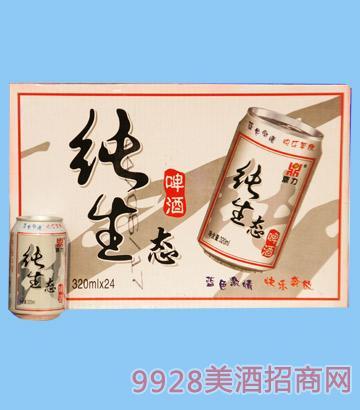 鼎力纯生态啤酒320ml