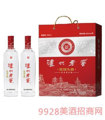 泸州老窖集团精制头曲典藏版酒