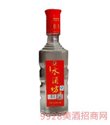 水酒坊酒一斤简装红款42度500ml浓香型