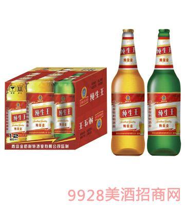纯生王啤酒纯金麦(箱)