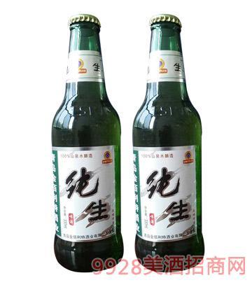 纯生风味啤酒330ml