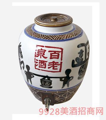 百老泉酒50斤浓香瓷缸
