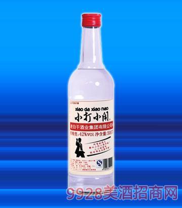 小打小闹(青春励志小酒)白标42°500ml