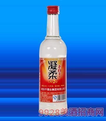 42°凝柔2号老白干酒500ml