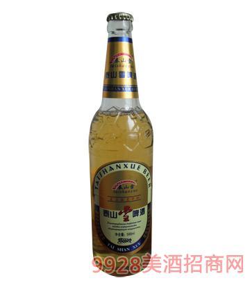 泰山雪啤酒