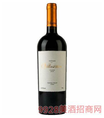 智利维拉金标精选干红葡萄酒 2009
