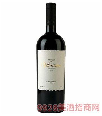 智利维拉黑标品丽珠干红葡萄酒 2010