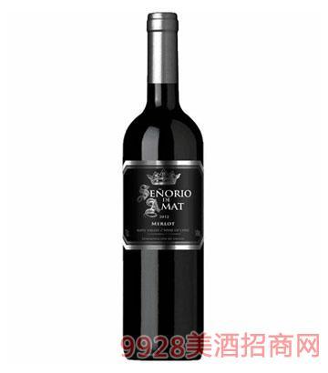 智利红酒银爵保罗梅洛干红葡萄酒