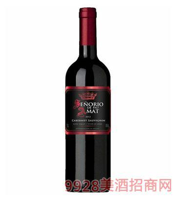智利红酒铭爵保罗赤霞珠干红葡萄酒