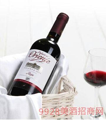 奥连德珍藏干红葡萄酒 13.5度