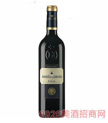 歌蒂亚伯爵陈酿干红葡萄酒 2010 13度