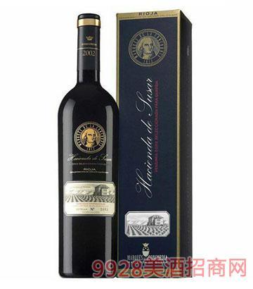 歌蒂亚伯爵苏萨精选陈酿干红葡萄酒 14.5度