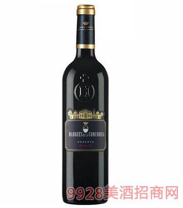 歌蒂亚伯爵珍藏干红葡萄酒 13.5°