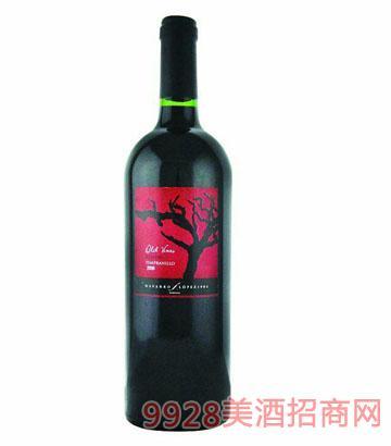 老树酒庄珍藏干红葡萄酒 13.5°