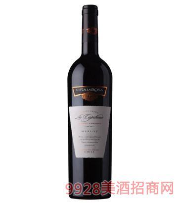 拿仑山酒庄棕榈王梅洛红葡萄酒