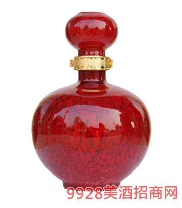 坛子酒红釉5斤