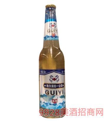 哈尔滨冰纯330ml啤酒