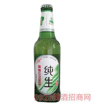 哈尔滨归一啤酒纯生500ml