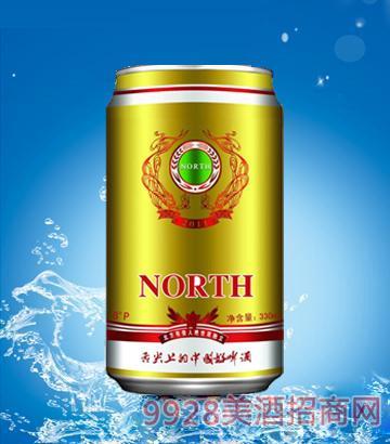 北方啤酒330ml金罐