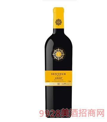 圣图酒堡梅洛干红葡萄酒B3