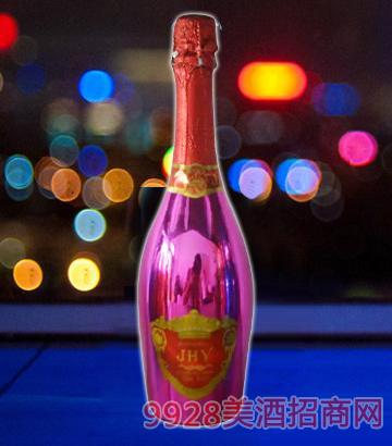 JHY旭泽气泡酒(粉瓶)