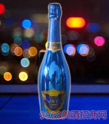 JHY旭泽气泡酒(蓝瓶)
