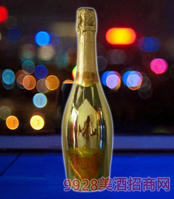 JHY旭泽气泡酒(金瓶)