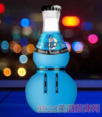 梦爽鸡尾酒蓝玫瑰味4.8度