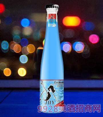 旭泽鸡尾酒蓝玫瑰味4.8度