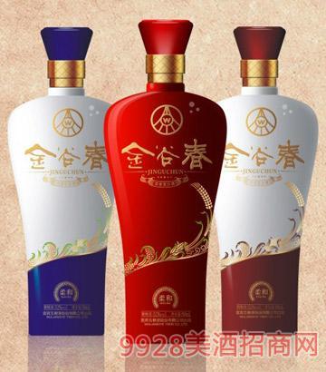 金谷春酒52度500ml浓香型