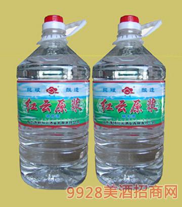 红云原浆酒(塑桶)