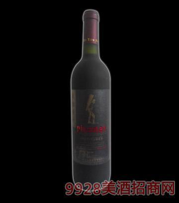 法国原汁蓝标干红葡萄酒