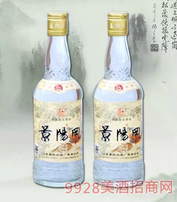 景阳冈透瓶香酒