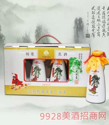 景阳冈大酒壶礼盒