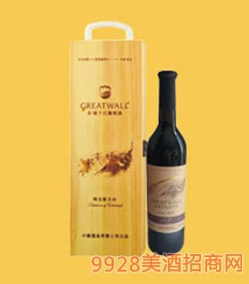 长城北纬37度精选级解百纳干红葡萄酒-7854