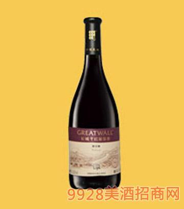 长城钻石系列橡木桶解百纳干红葡萄酒-0068