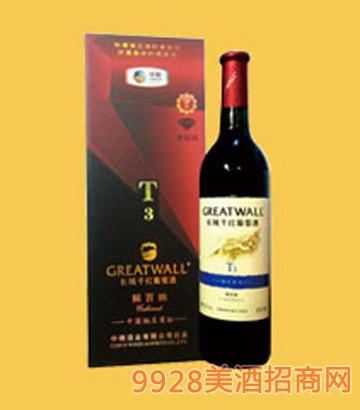长城干红葡萄酒解百纳T3-4051