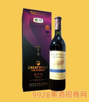 长城干红葡萄酒解百纳T6-6017