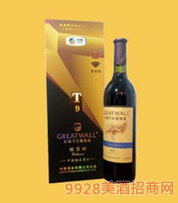 长城干红葡萄酒解百纳T9-6635