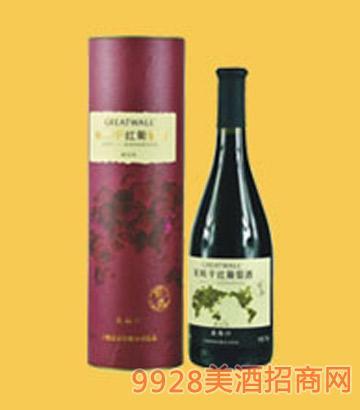 长城北纬37°特选解百纳干红葡萄酒-7458