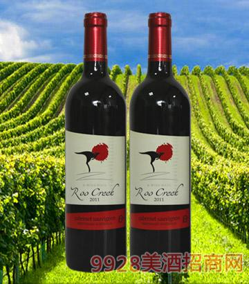 澳大利亚飞奔袋鼠葡萄酒2011