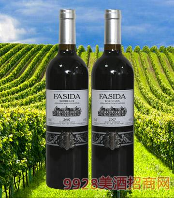 波尔多干红葡萄酒2007