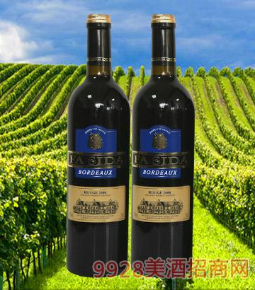 波尔多干红葡萄酒2008