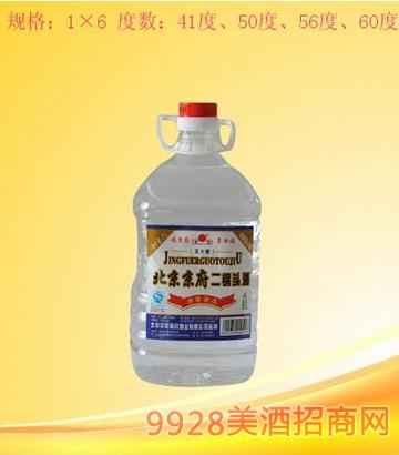 北京京府二锅头2升桶装酒