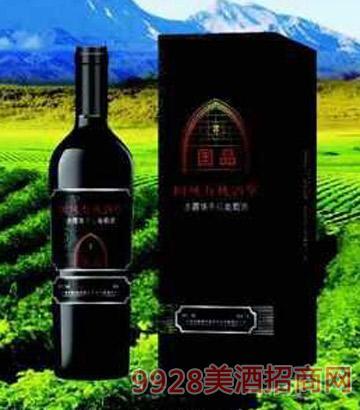 国风国品有机酒堡赤霞珠干红葡萄酒