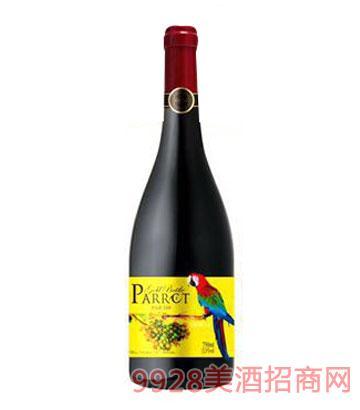 金樽鹦鹉特藏干红葡萄酒