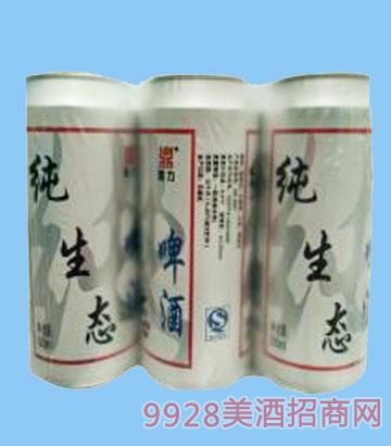 鼎力纯生态啤酒